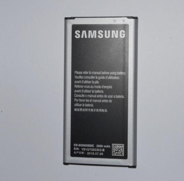 Vendo batteria Samsung S5 per GT-I900 e SM-G900F
