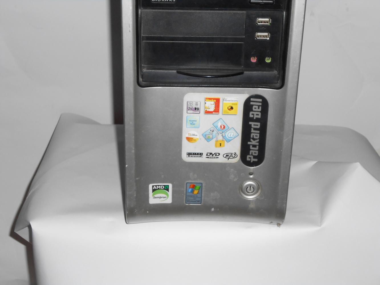 Vendo Desktop Packard Dell UTOW-QUA