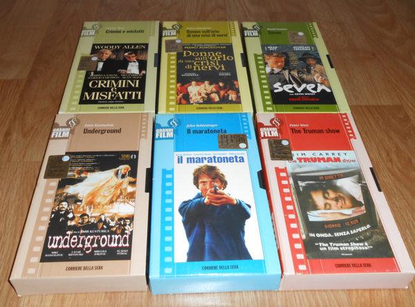Vendo cassette VHS film da collezione