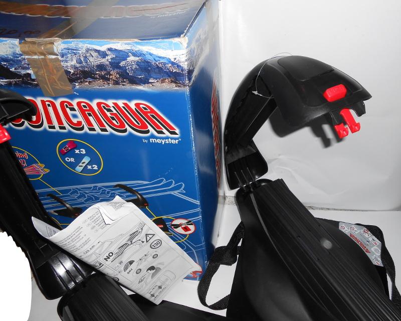 Vendo porta sci e snowboard AcongaGua 3P/2S.B magnetico