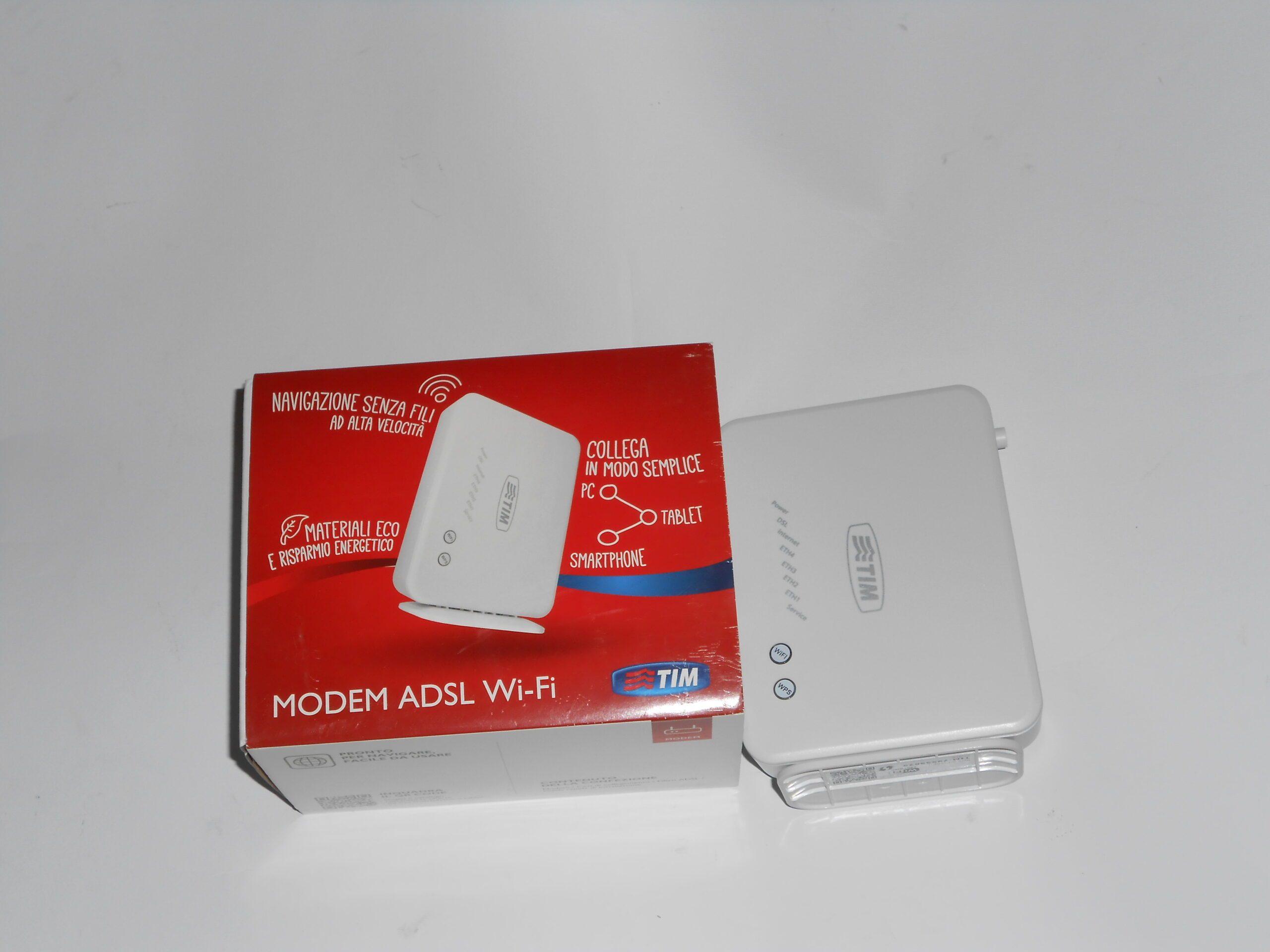 Vendo modem ADSL2+ Wi-Fi Telecom Italia Tim